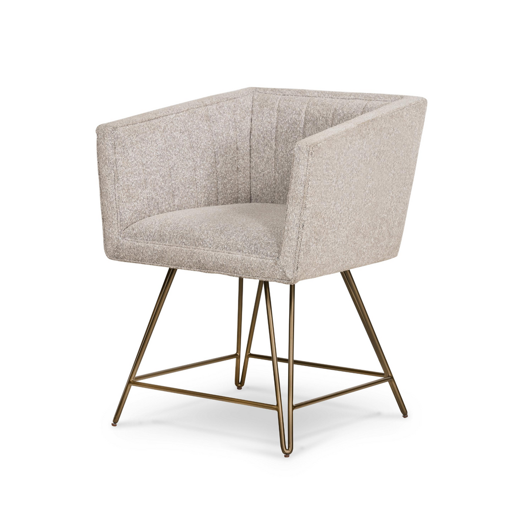 Rooney Swivel Dining Chair-Elder Sable