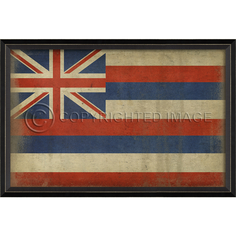 Hawaii State Flag Wall Art
