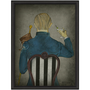 Vices Wall Art: Gentleman Vice 8