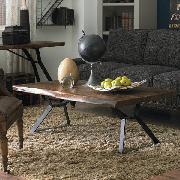 Lehigh Loft Live-Edge Coffee Table