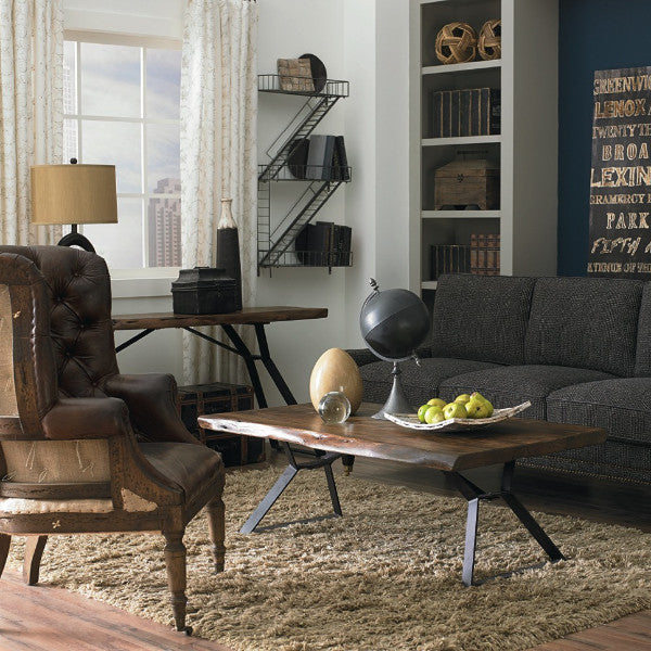Lehigh Loft Live-Edge Console Table