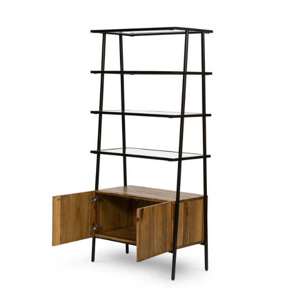 Mondrian Bookcase-Light Honey