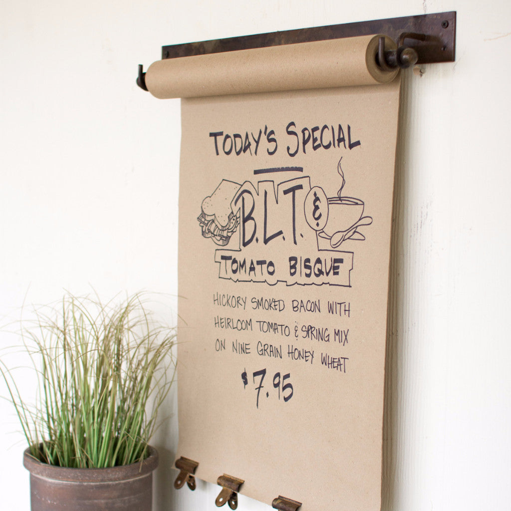 Hanging Note Roll Shopping List To Do List Daily Special Schedule