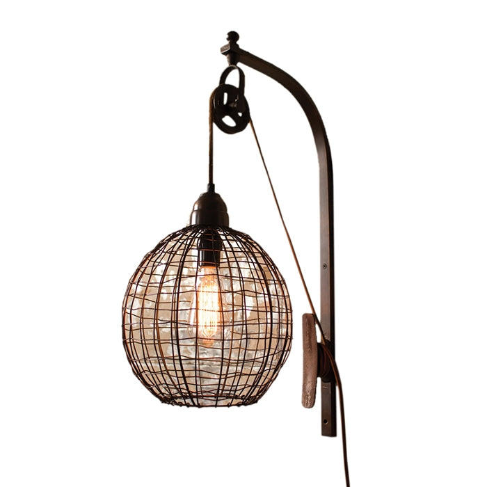 Kabina Pulley Wall Sconce
