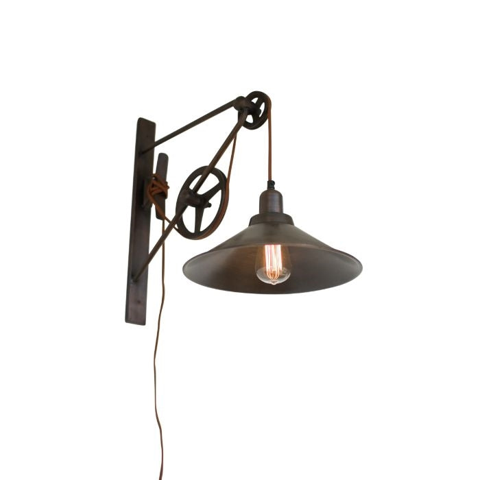 Grange Double Pulley Wall Sconce