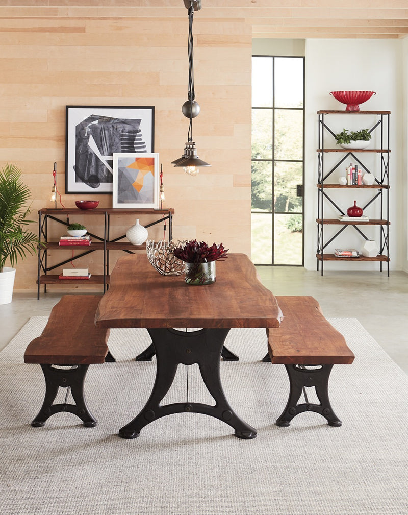 Saucona Forge Live-Edge Dining Table