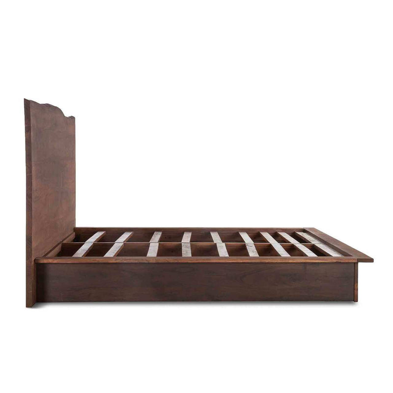 Saucona Forge Live Edge Platform Bed