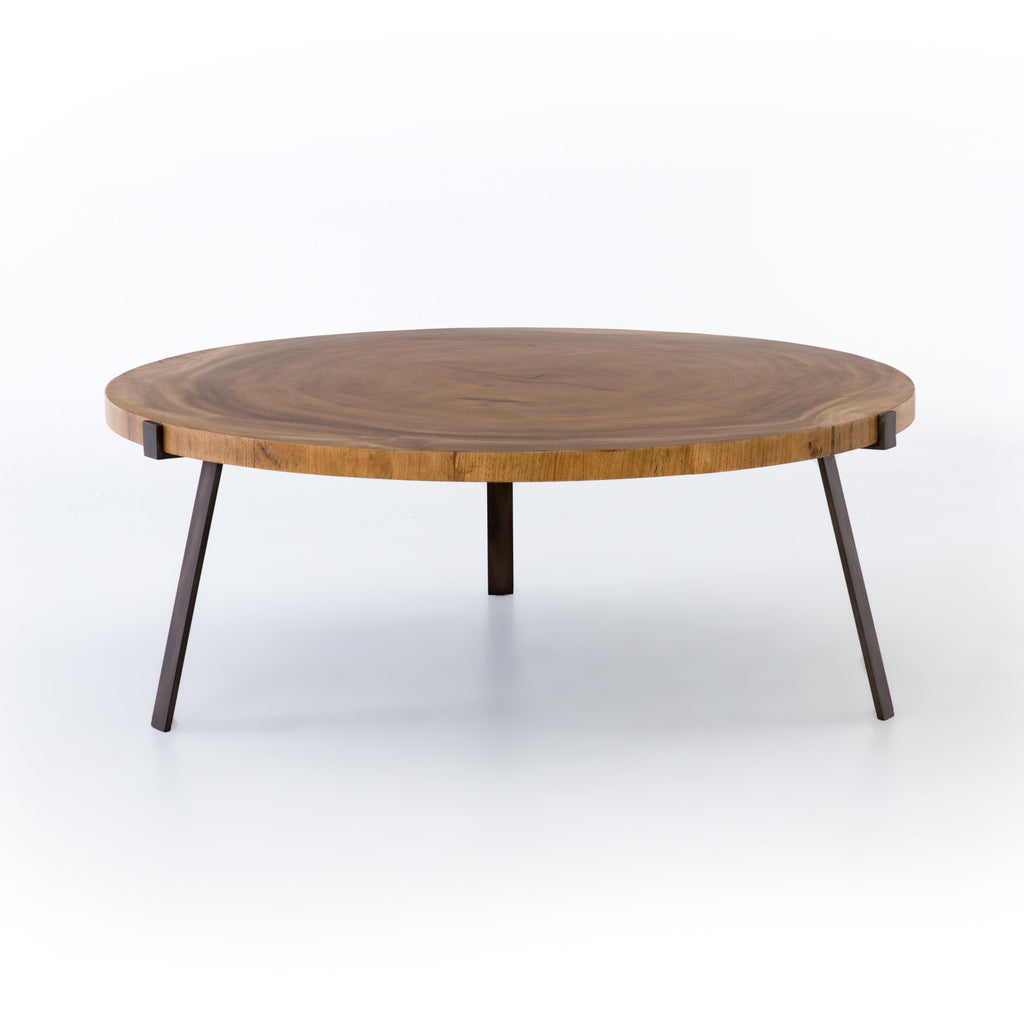 Exeter Live-Edge Coffee Table