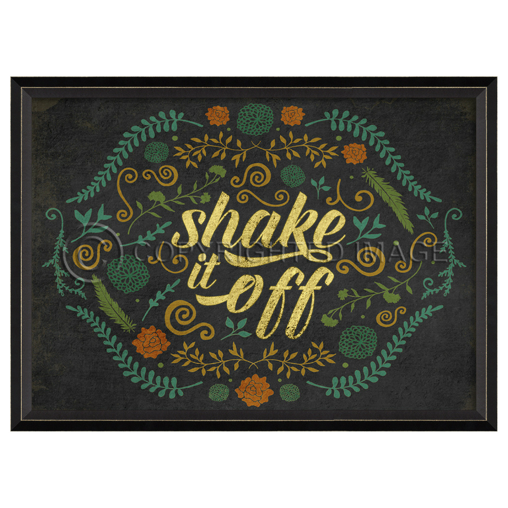 Happy Thoughts Wall Art: Shake it Off