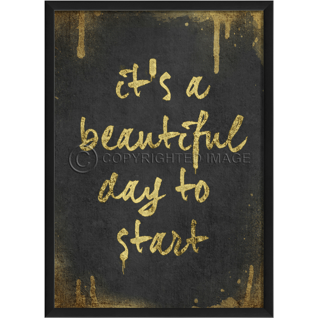 Happy Thoughts Wall Art: A Beautiful Day