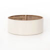 Cas Drum Coffee Table-Cream