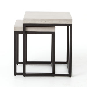 Maximus Nesting Side Tables
