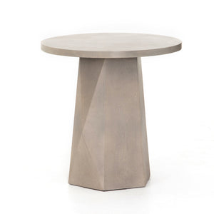 Bowman Outdoor Concrete End Table