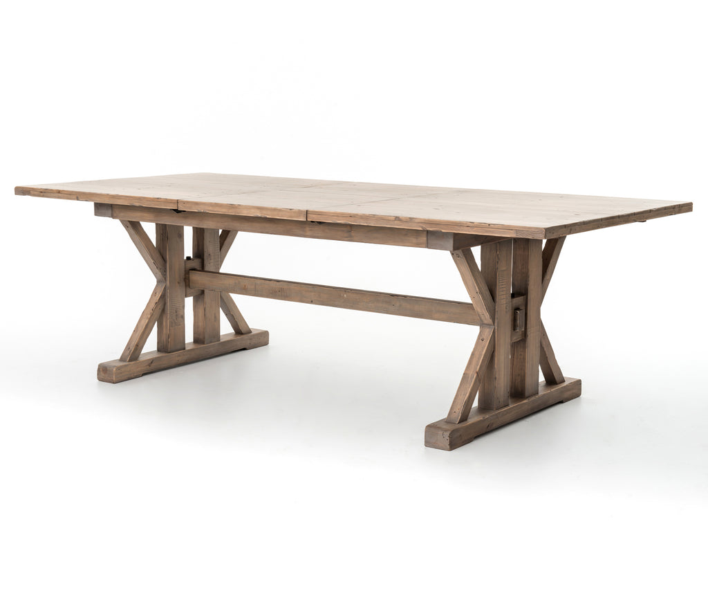 Tuscanspring Ext Dining Table-Sundried Wheat