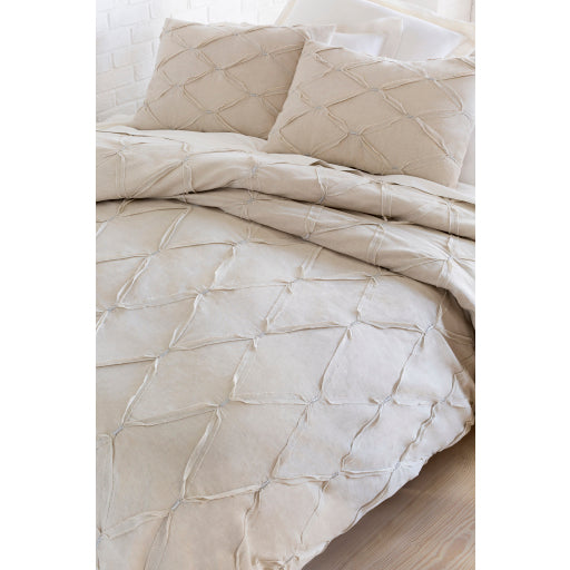 Soho Duvet Set, Light Gray