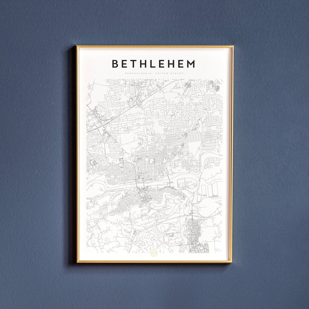 Bethlehem, Pennsylvania Map