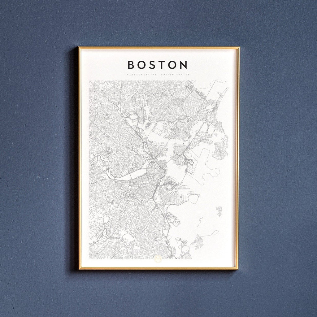 Boston, Massachusetts Map