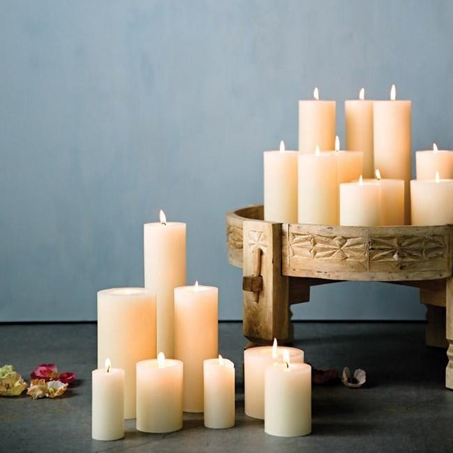 "Flaire 3"" x 8"" Pillar Candle"