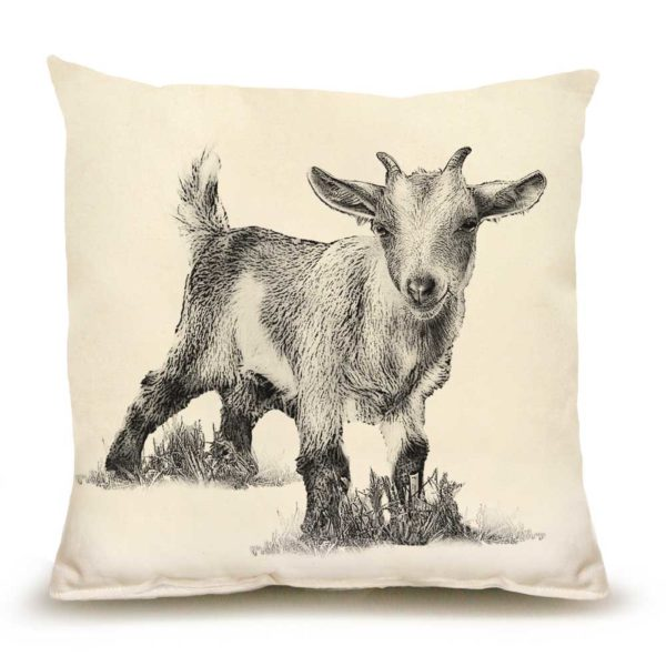 Baby Goat #3 Pillow