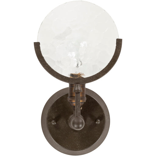 Monocle Wall Sconce Bronze