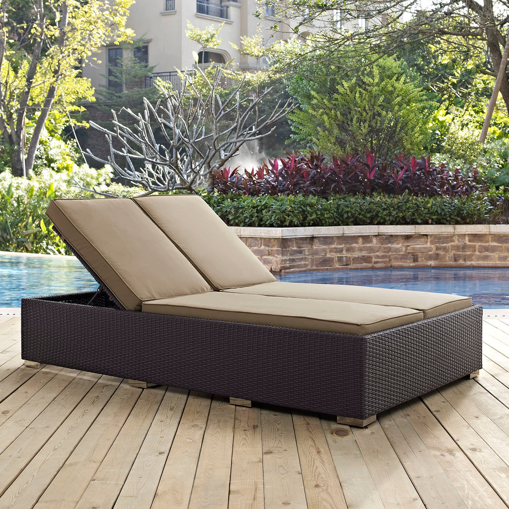 Zen Outdoor Double Chaise Lounge