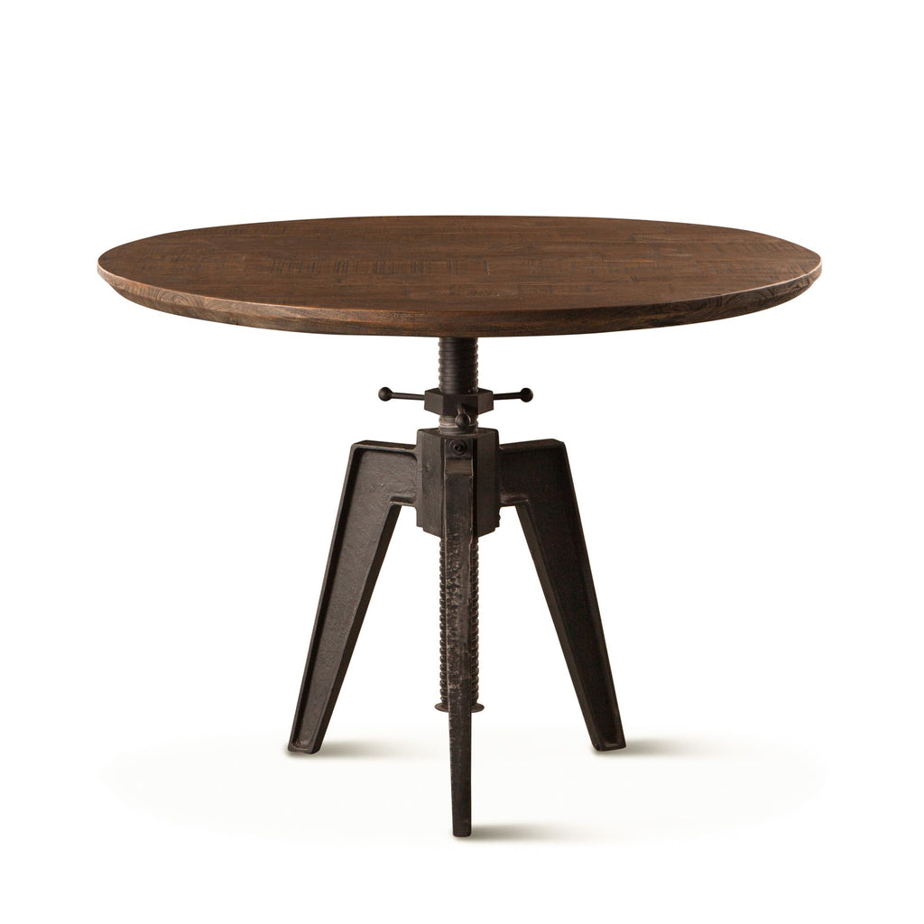 Carnegie Adjustable Round Dining Table