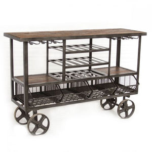 Hoover Mason Bar Trolley