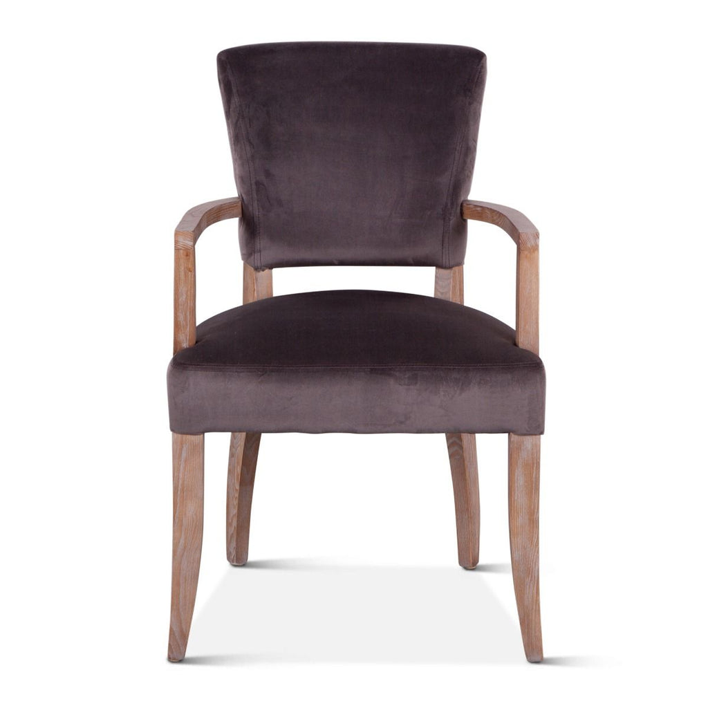 Cindy Arm Chair - Velvet