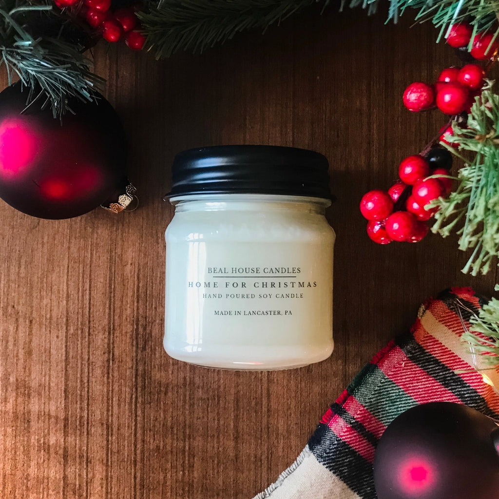 Home For Christmas Candle by Beal House Candles