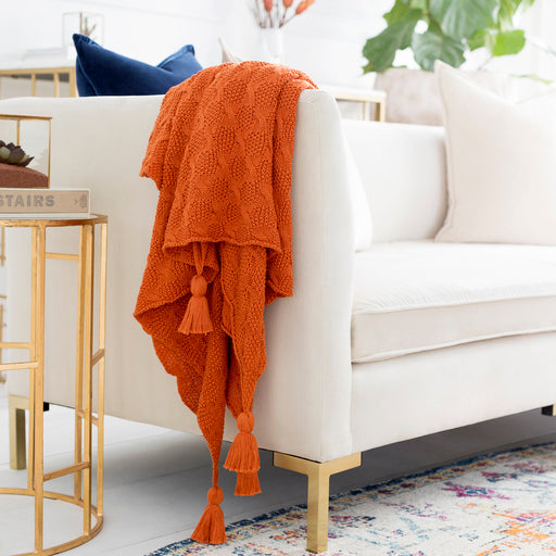 Maglia Orange Throw