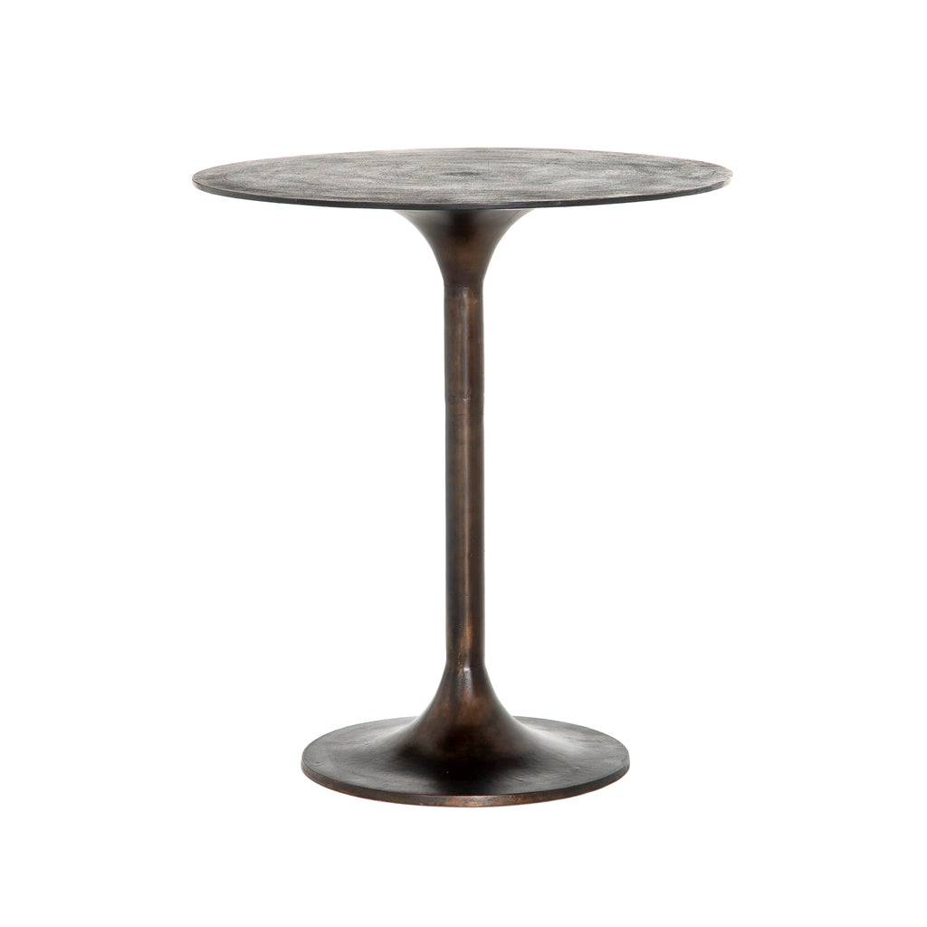 Simone Counter Table-Antique Rust