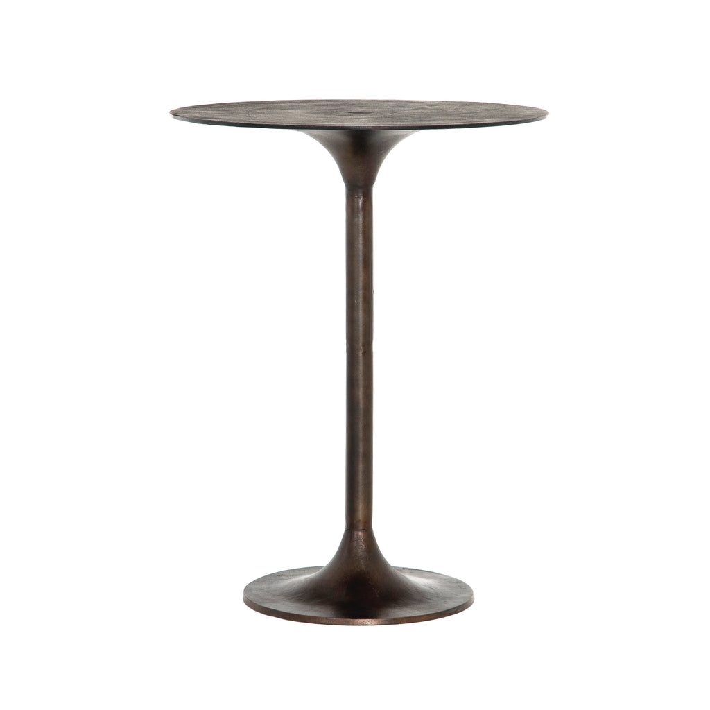 Simone Bar Table-Antique Rust