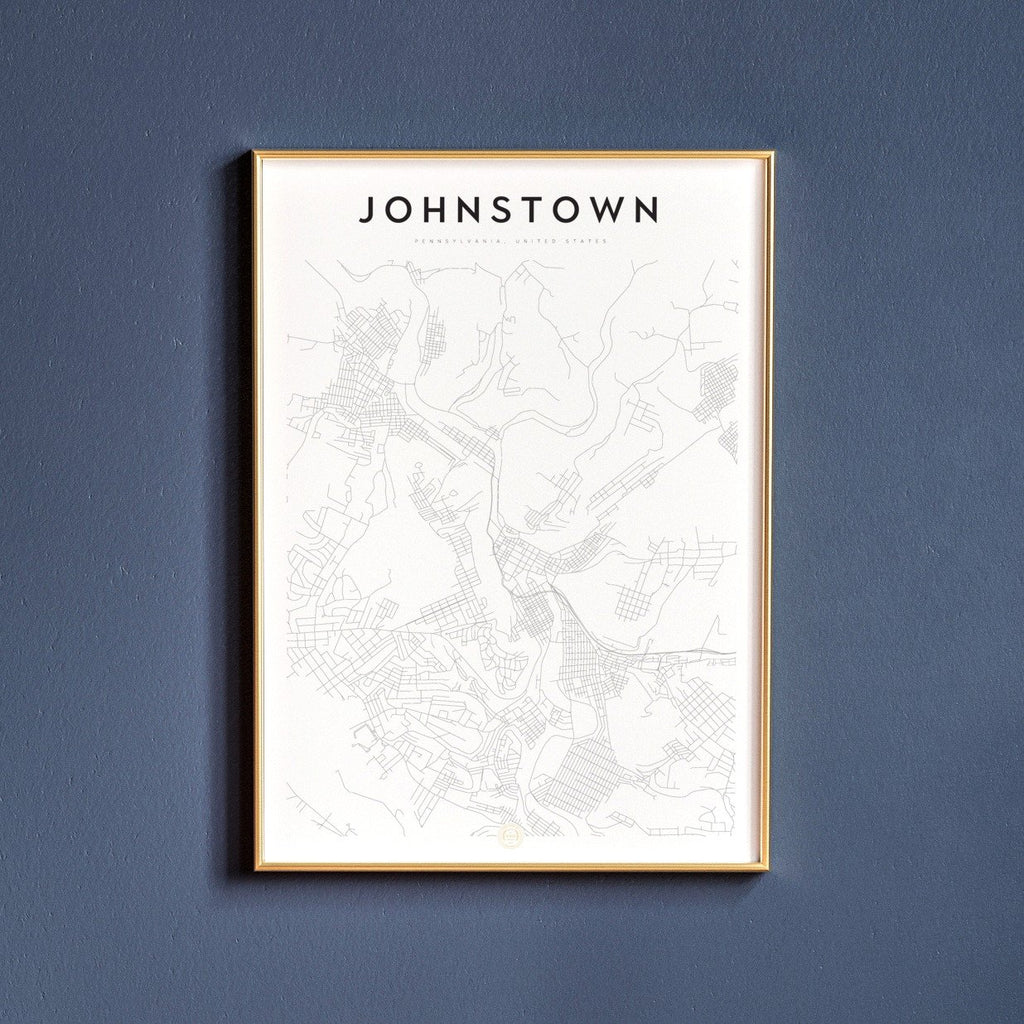 Johnstown, Pennsylvania Map