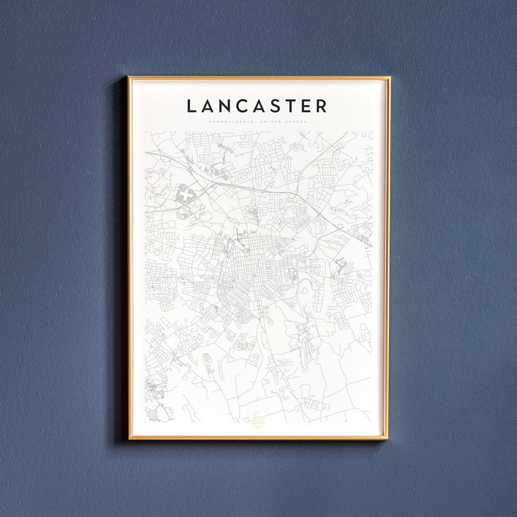 Lancaster, Pennsylvania Map