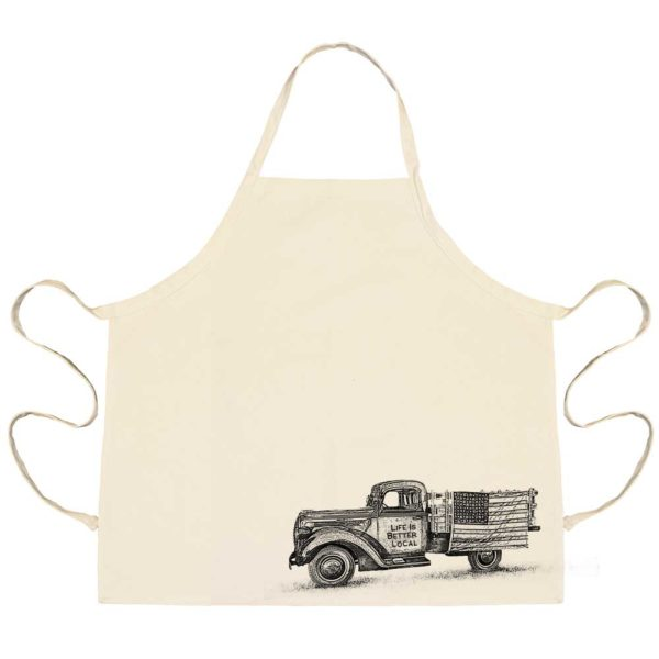 Life Is Better Local by Eric & Christopher Truck Apron