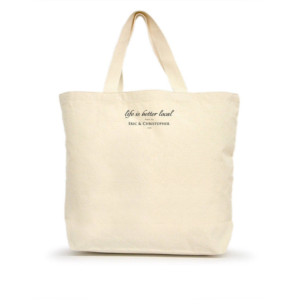 Life is Better Local by Eric & Christopher Bumblebee Tote