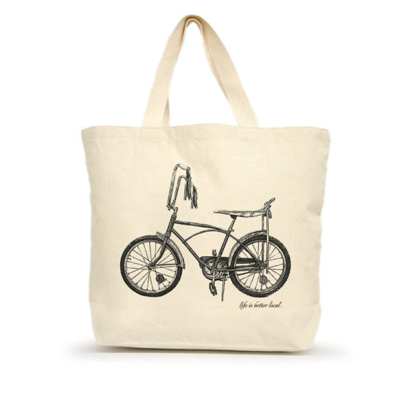 Life is Better Local by Eric & Christopher Bike #2 Tote