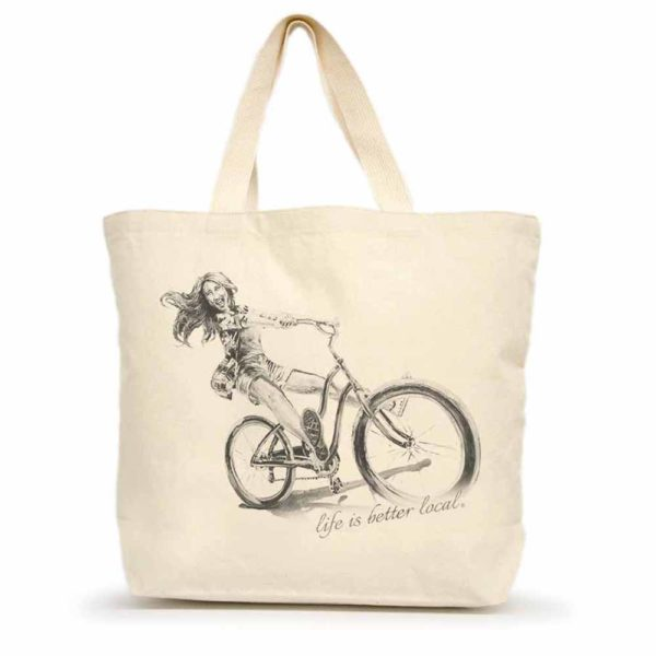 Life is Better Local by Eric & Christopher Bike #1 Tote