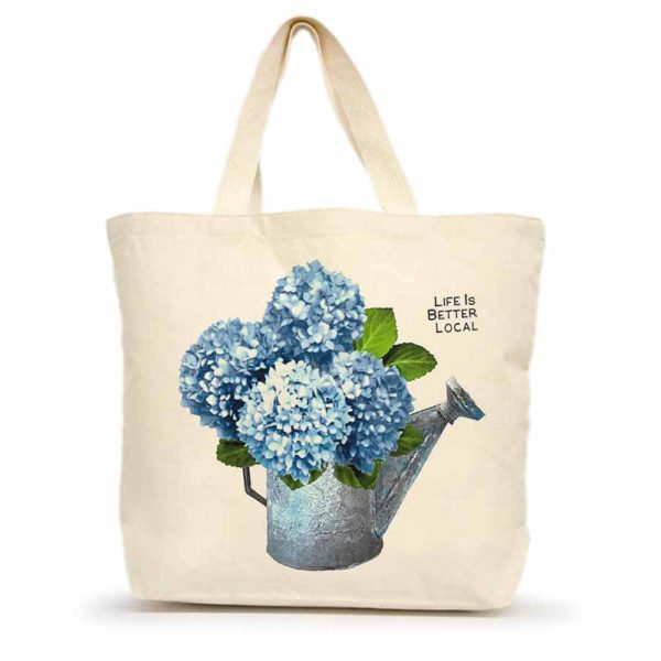 Life is Better Local by Eric & Christopher Hydrangea Tote