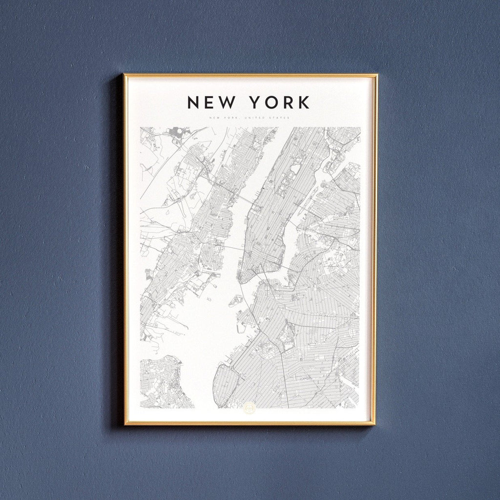 New York, New York Map