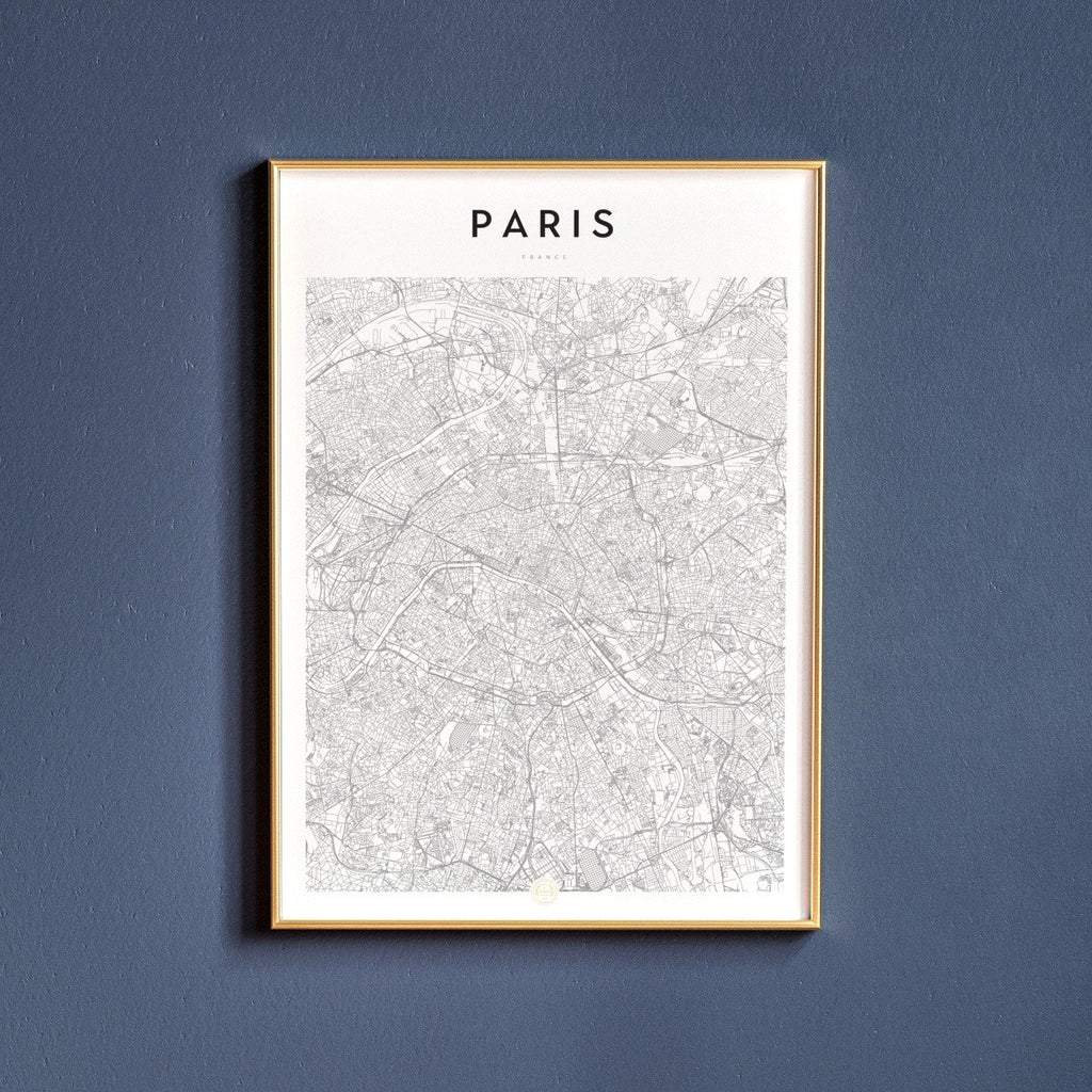 Paris, France Map