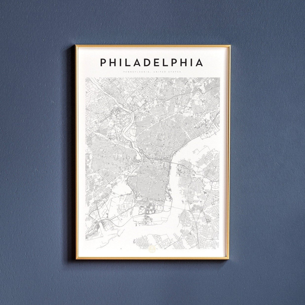 Philadelphia, Pennsylvania Map