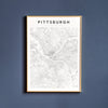 Pittsburgh, Pennsylvania Map