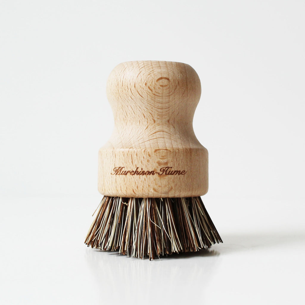 Wood Pot Brush