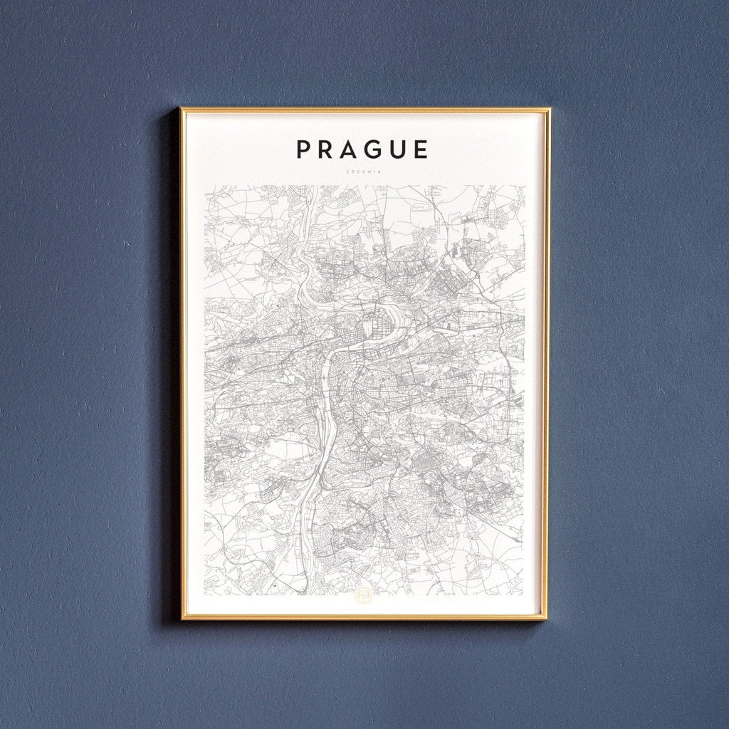 Prague, Czechia Map