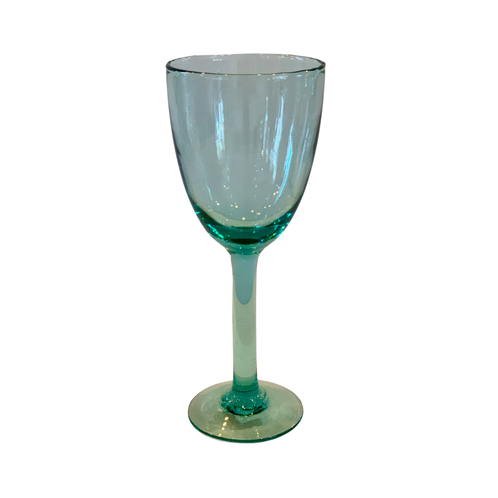 Recycled Wine Glasses, Set of 6