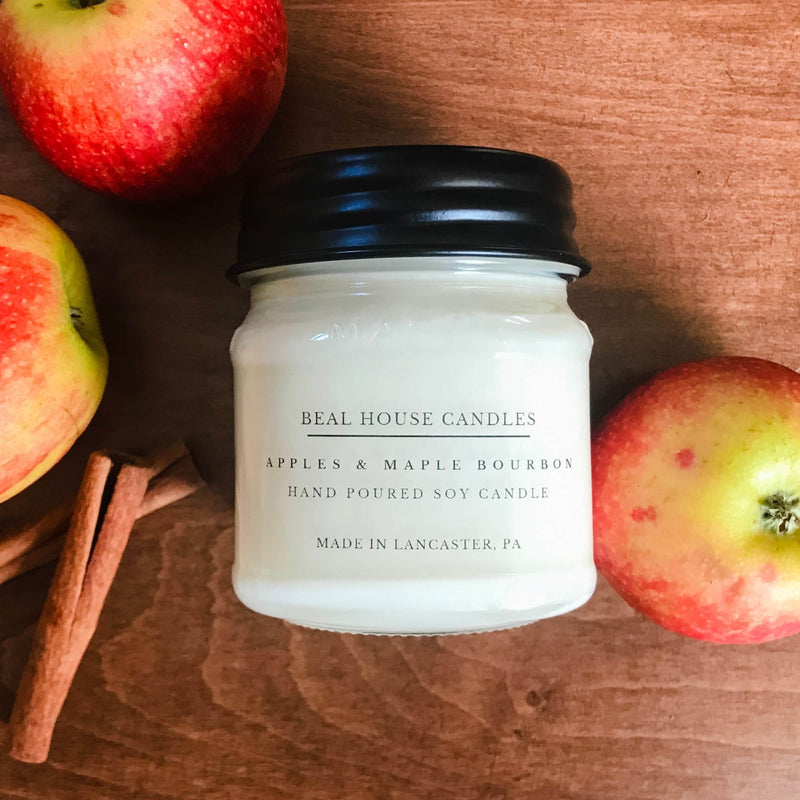 Apples & Maple Bourbon Candle by Beal House Candles
