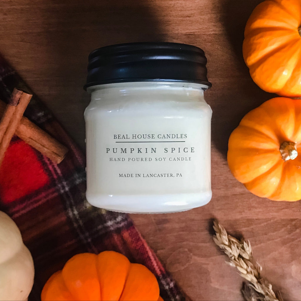 Pumpkin Spice Candle by Beal House Candles