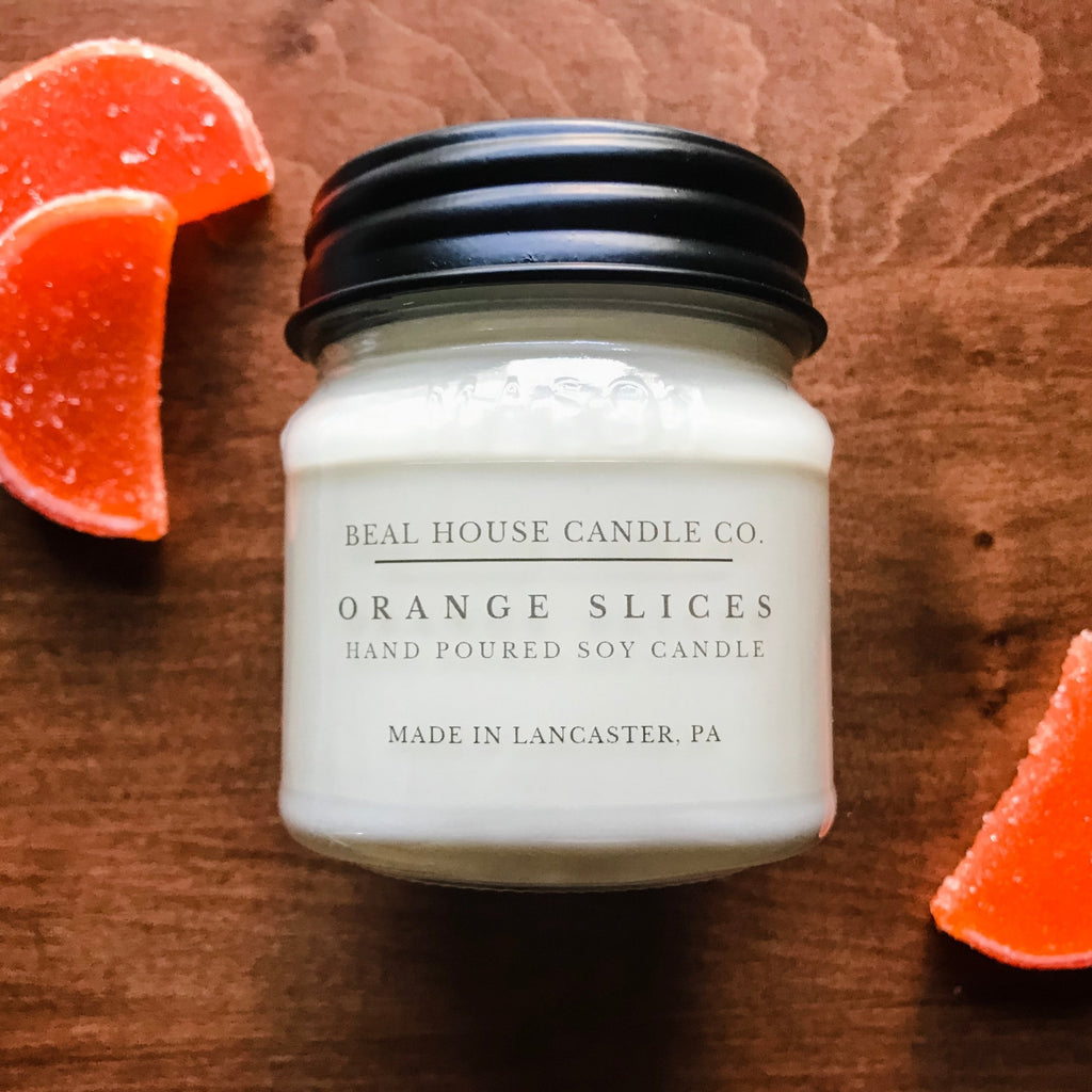 Orange Slices Candle by Beal House Candles