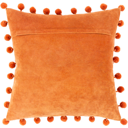 Sarasota Pillow - Burnt Orange